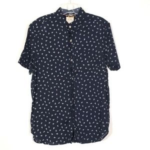 [Koto] Urban Outfitters Button Up Pattern Shirt